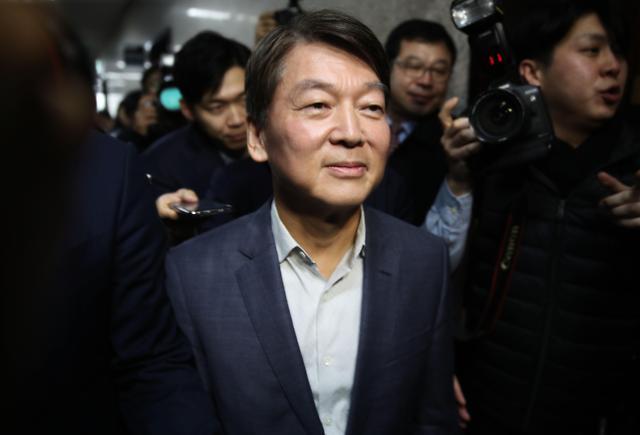 安哲秀宣布退出正未来党