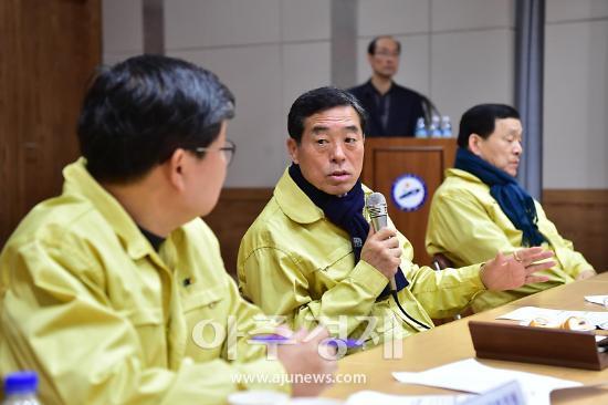 윤화섭 안산시장, 연간 시정 주요현안 구상 릴레이 토론 열어