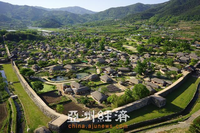 访顺天乐安邑城 古代与现代共存
