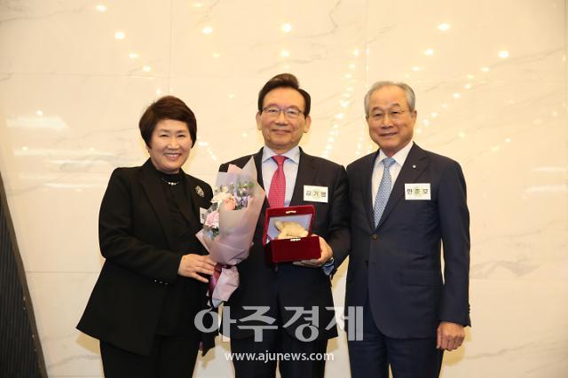 김기병 롯데관광개발 회장, 사단법인 상우회 프론티어상 수상