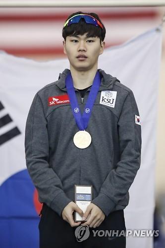 김민석·엄천호, 4대륙 빙속 1500m-매스스타트 금메달