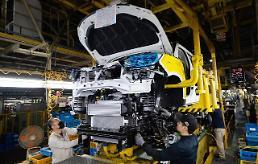 .韩国五大整车厂商1月销量同比减少6%.
