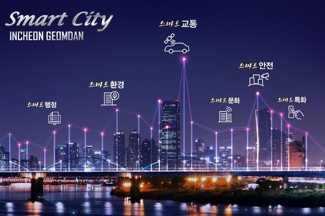 인천 서구 검단 스마트도시, 국내 최초 실시계획 승인