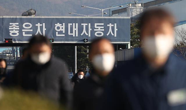 受新冠疫情影响 韩国车企接连停工