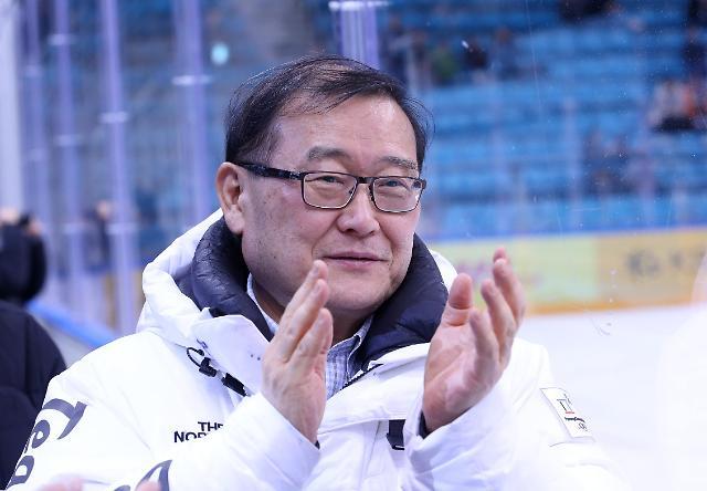 정몽원 한라그룹 회장, IIHF 아이스하키 명예의 전당 헌액... 아시아 5번째