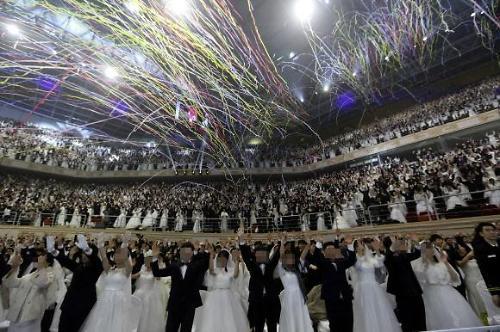 [신종코로나]확산 우려에도...통일교 3만명 합동결혼식 개최