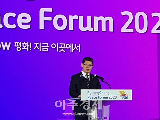 [평창평화포럼] 김연철 경제성장·번영, 견고한 평화 위에서 가능…철도·관광 남북협력 강조