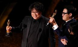 .Parasite wins four Oscar trophies: Yonhap.
