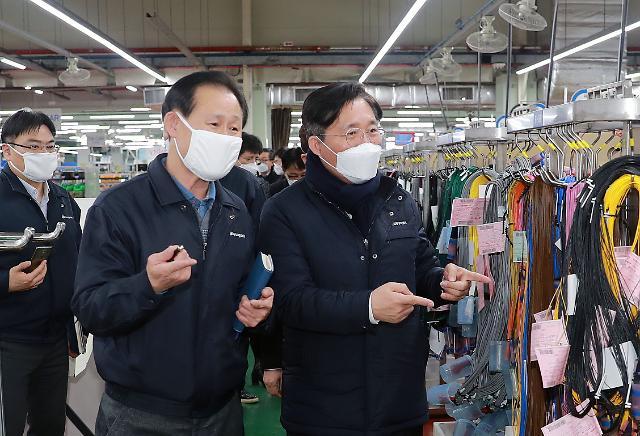 자동차 부품 와이어링 하네스 중국 내 37개 공장서 생산 재개