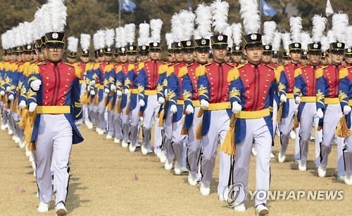 [신종 코로나] 육·해·공군 사관학교 입학식에 부모·친지 참석 불허