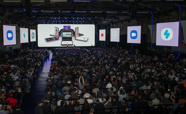 谷歌网飞微软助力三星新品发布会