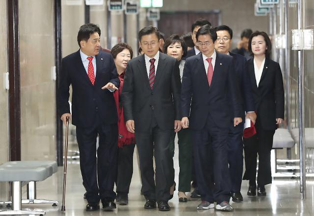 한국당, 오늘 전국위 개최...새보수·전진당과 합당 의결