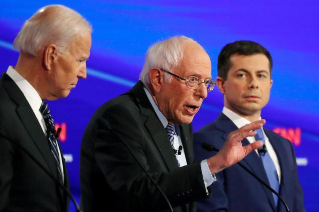 [2020 美 민주당 경선] 엇갈린 노익장...추락하는 바이든과 견고한 샌더스