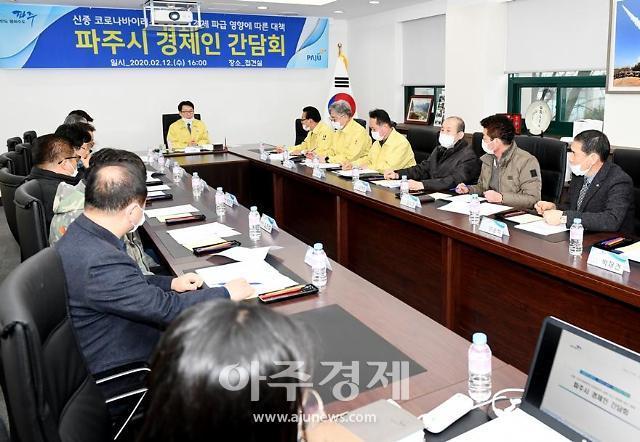 파주시, 코로나19 대응'경제인 간담회'개최