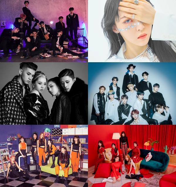 Mnet '엠카운트다운', '믿고 듣는' 펜타곤·'걸크러쉬'·문별·체리블렛 컴백 무대 최초 공개