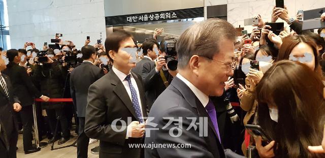 文 간담회서 5대 그룹과 어깨 나란히 한 CJ…기생충 후광효과