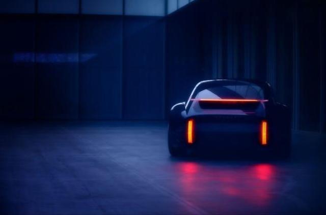 现代汽车公开新概念车Prophecy海报 新车将亮相日内瓦国际车展
