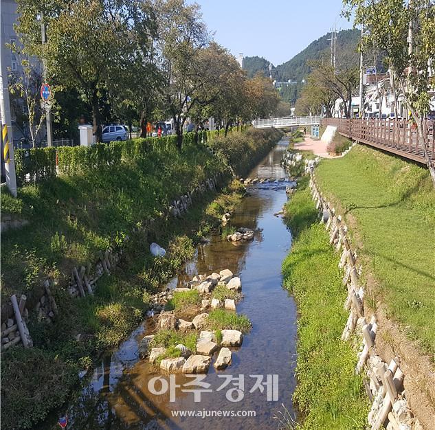 경북도, 도심 복개하천 등 13곳...총 2123억 원 투입 생태하천으로 복원