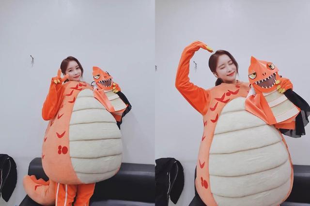복면가왕 우주소녀 다영, 가왕전 진출 브라키오사우루스 정체 공개···행복해 소감