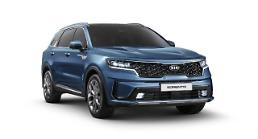 .​Kia reveals revamped version of mid-sized SUV Sorento.