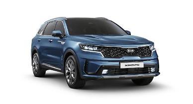 Kia reveals revamped version of mid-sized SUV Sorento