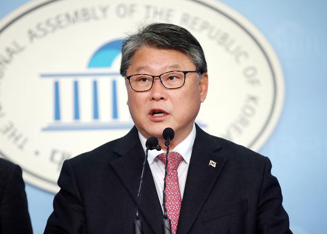 """조원진 """"'탄핵 5적' 정리되면 자유한국당과 연대"""""""