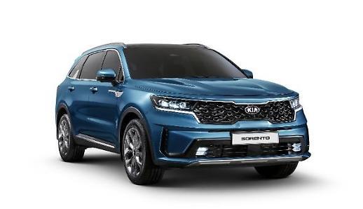 Kia tiết lộ phiên bản tân trang của chiếc SUV cỡ trung Sorento