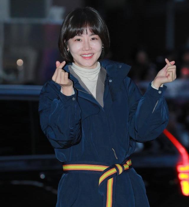[슬라이드 화보] 황우슬혜, 러블리 손하트