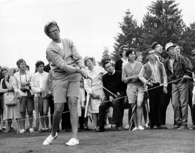 LPGA 전설 미키 라이트 영면…향년 85세