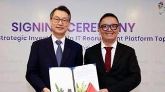 Công ty SaraminHR mua lại nền tảng ứng dụng tìm kiếm việc làm AppLancer của Việt Nam