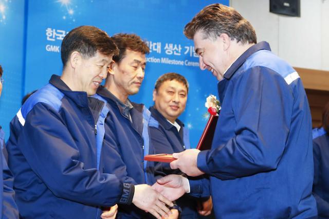 한국GM 창원공장, 완성차 누적 생산 500만대 돌파