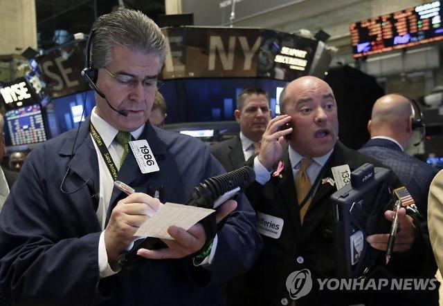 [뉴욕증시 마감]애플 코로나19 충격 우려에 휘청...다우·S&P 하락