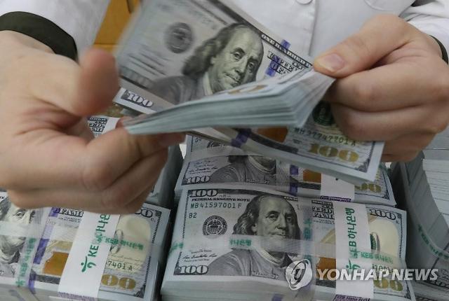 1월 거주자 외화예금 44.6억 달러 줄어…원·달러 환율 상승 영향