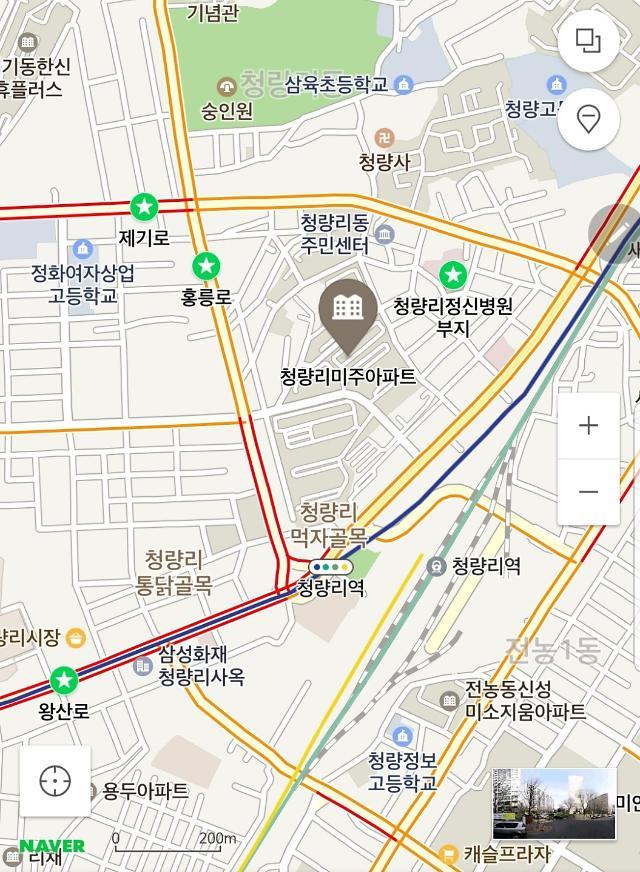 [단독] 청량리역 왕산로-홍릉로-제기로 삼각존, 복합개발된다