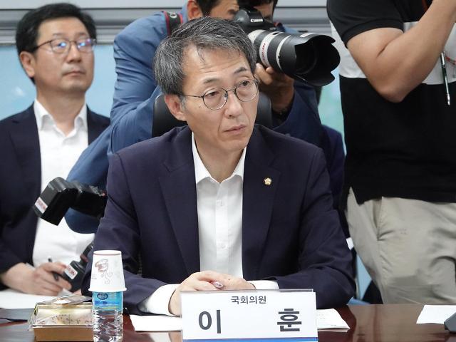 """與 이훈, 공천심사 후 첫 불출마 선언 """"희생정신 필요"""""""