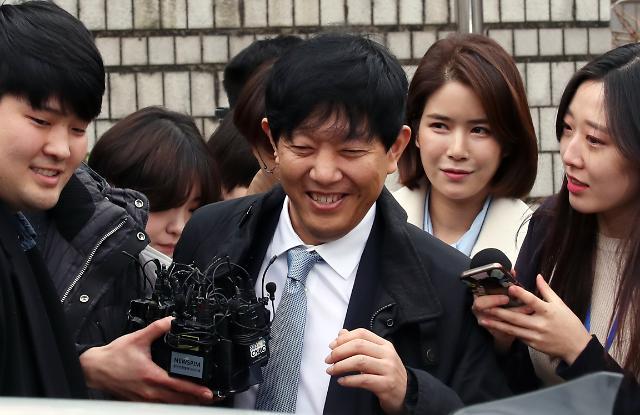 [포토] 타다 1심 무죄…환하게 웃는 이재웅 대표