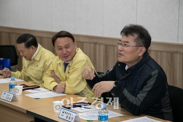 군산시, 코로나19관련 윤종인 행정안전부 차관 방문
