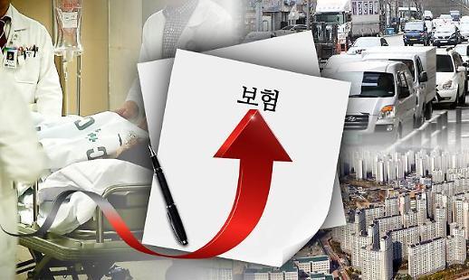 韩人寿保险公司4月起上调保险费5%至10%