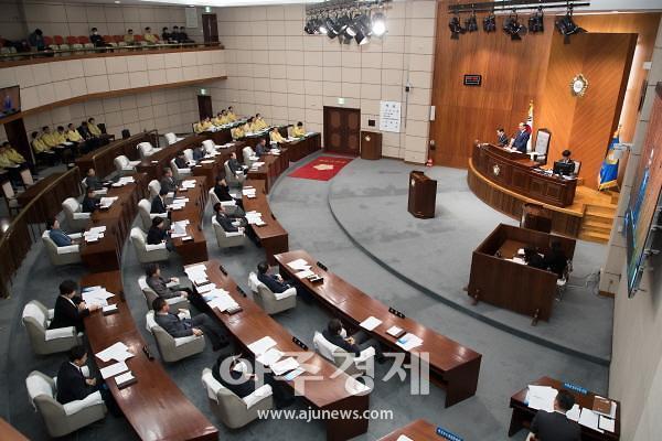 군산시의회, 올해 의정활동 첫 스타트