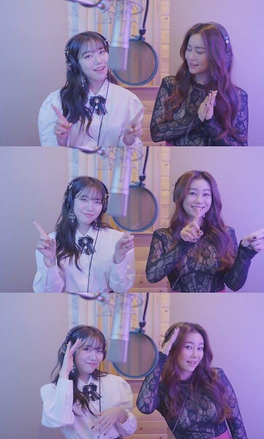김희진, 김양과 함께한 '우지마라' 라이브로 찰떡 호흡···'트롯 선후배의 아름다운 만남'