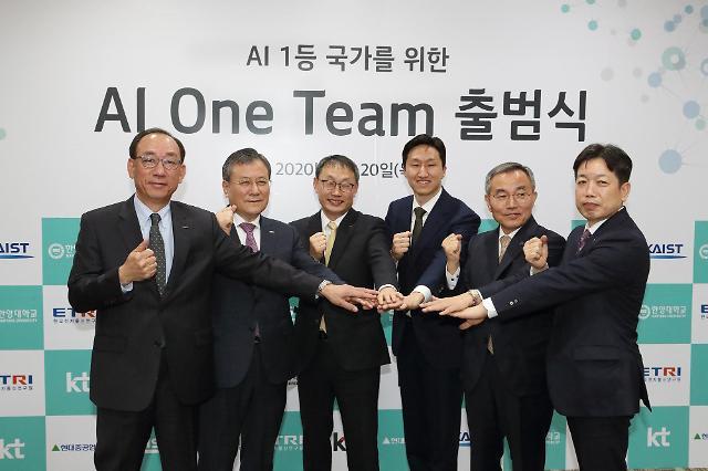 현대重그룹, 산·학·연 'AI 원팀' 주도…스마트조선소·팩토리 박차