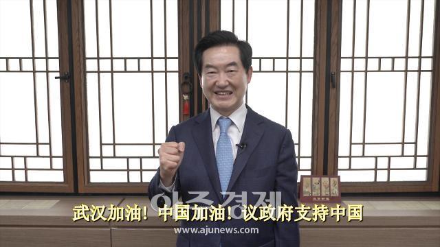 """[코로나19] 안병용 의정부시장, """"중국인에 격려·응원 보낸다"""""""