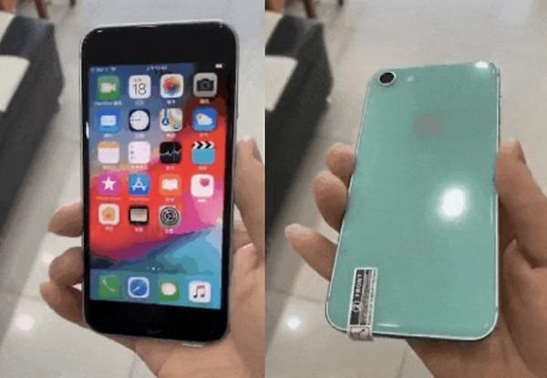 애플 아이폰SE2 실물이 틱톡에?