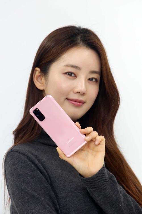 LG유플러스 갤S20 사전예약 고객, 클라우드 핑크 택했다