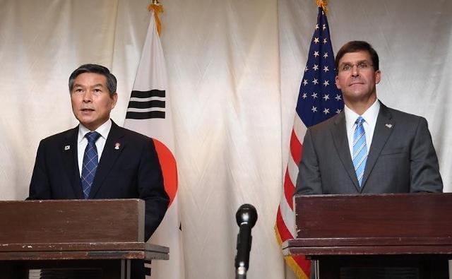 韩美国防部长24日将举行会谈