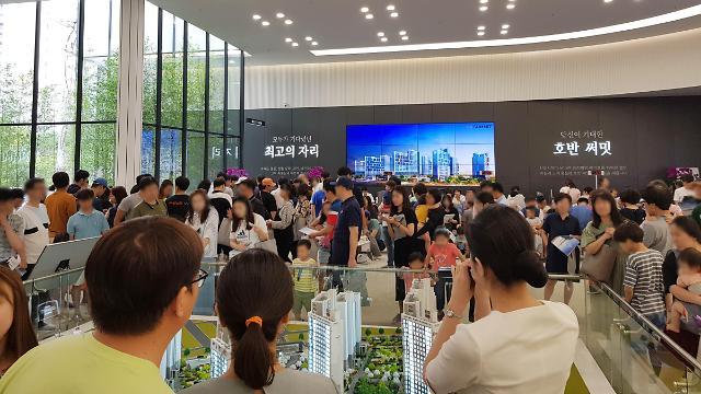 반도·중흥·호반 등 중견건설사, 올해 4만9천가구 분양