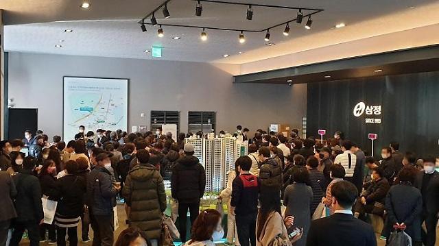 대연 삼정그린코아 모델하우스 주말 1만7000명 방문 성황
