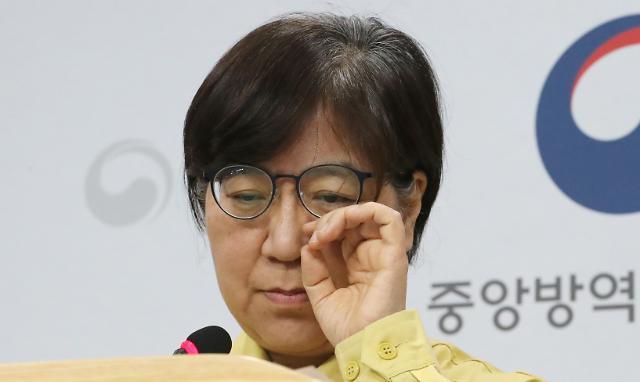 [슬라이드 화보] 정은경 본부장 무거운 표정으로