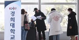 .中国留学生陆续入境韩国 本周将有1万人抵韩.