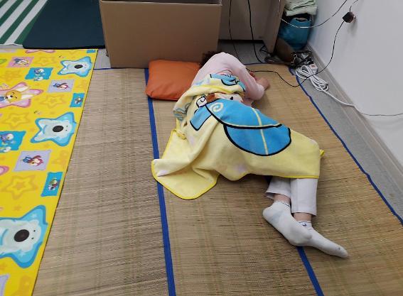 [슬라이드 화보] 열악한 청도 대남병원 의료진 생활모습